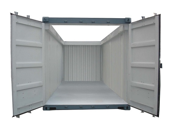 Open Top Storage Container