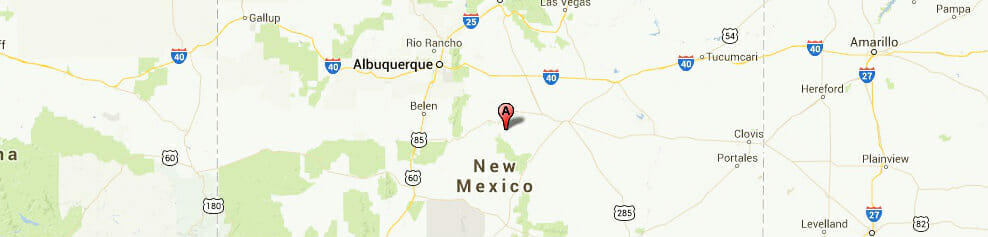 New Mexico-map