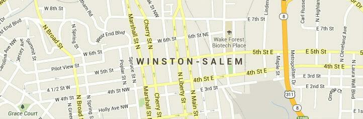winston-salem-map