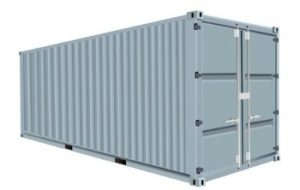 40-foot-Metal Storage Container