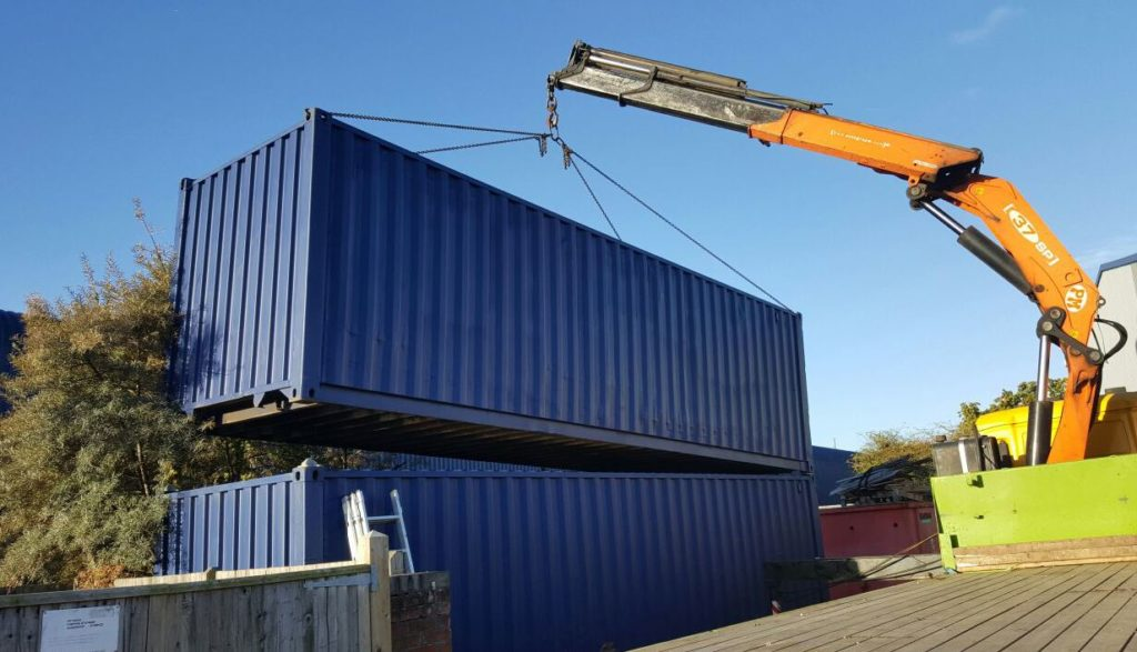 Metal Storage Container