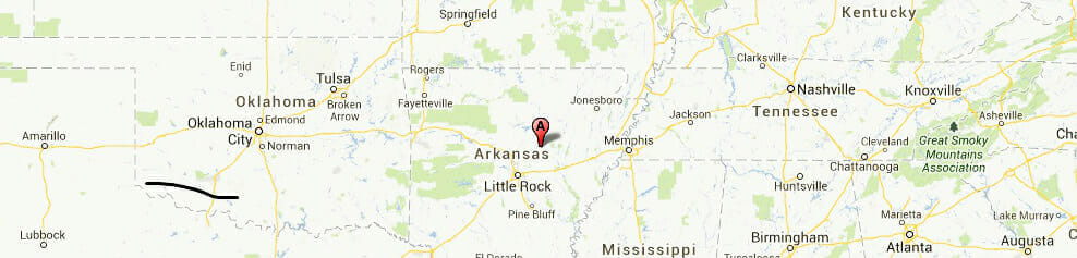 Arkansas-map