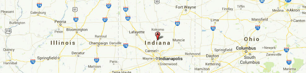 Indiana-map
