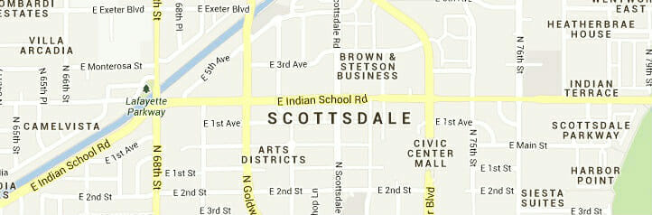 Scottsdale-map