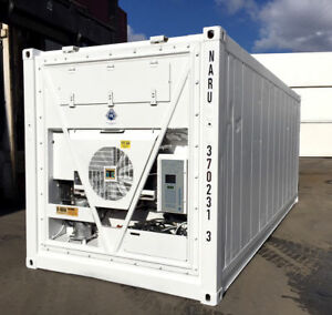 10' refrigerated container
